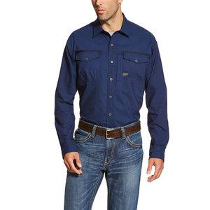 Ariat REBAR Workman Long Sleeve Button-Up Shirt
