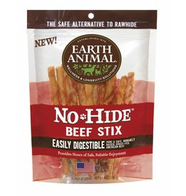 Earth Animal No Hide Beef Stix 10pk