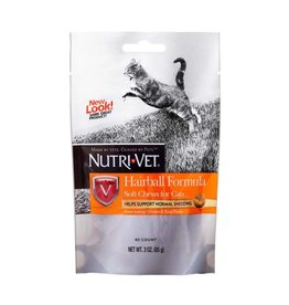 Nutri-Vet Hairball Soft Chews 80ct