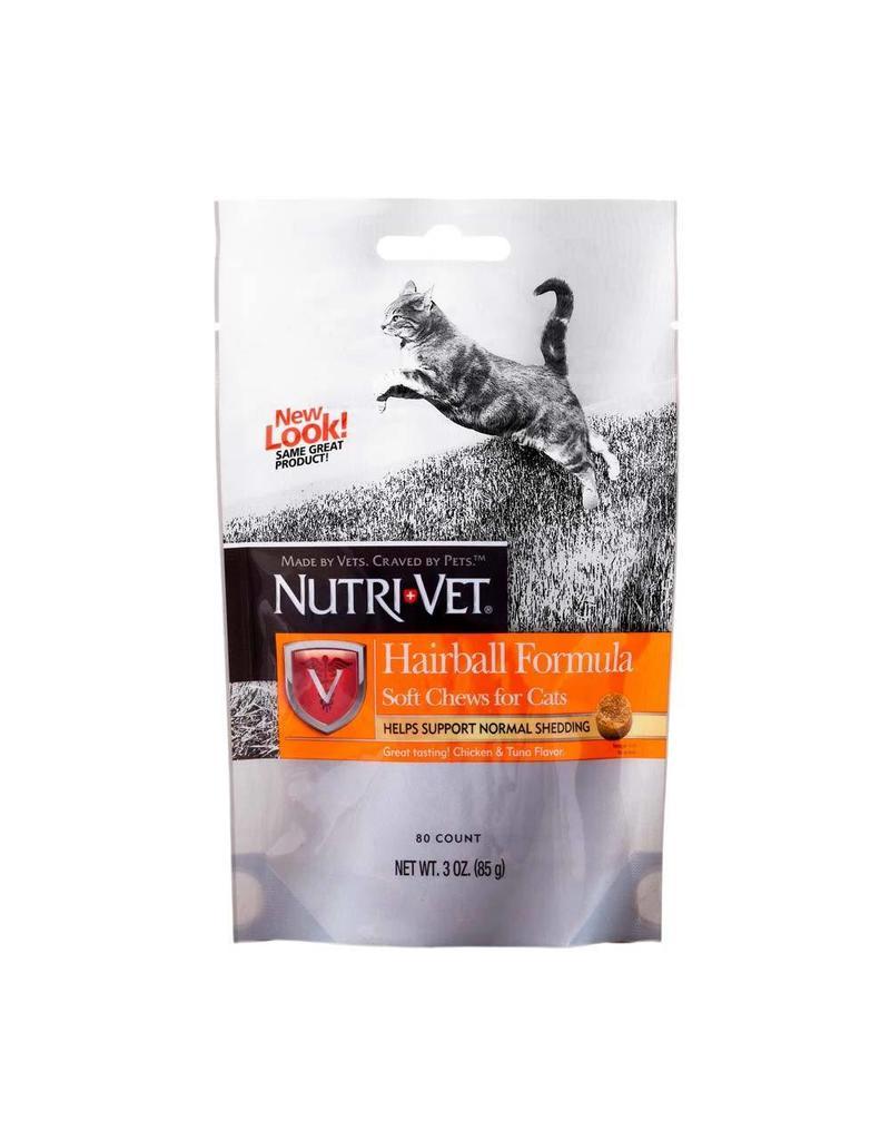 Nutri-Vet Hairball Soft Chews 80ct