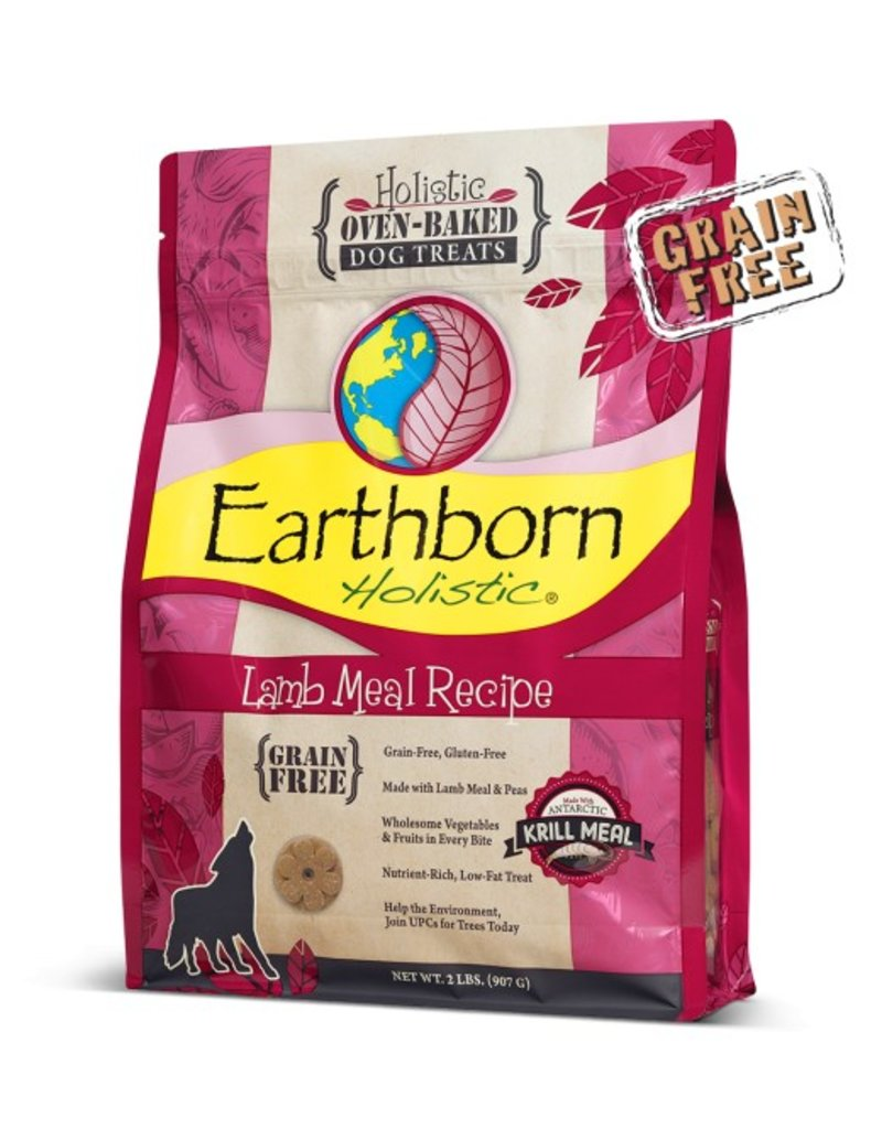 Earthborn Oven Baked Treats Lamb 2lb