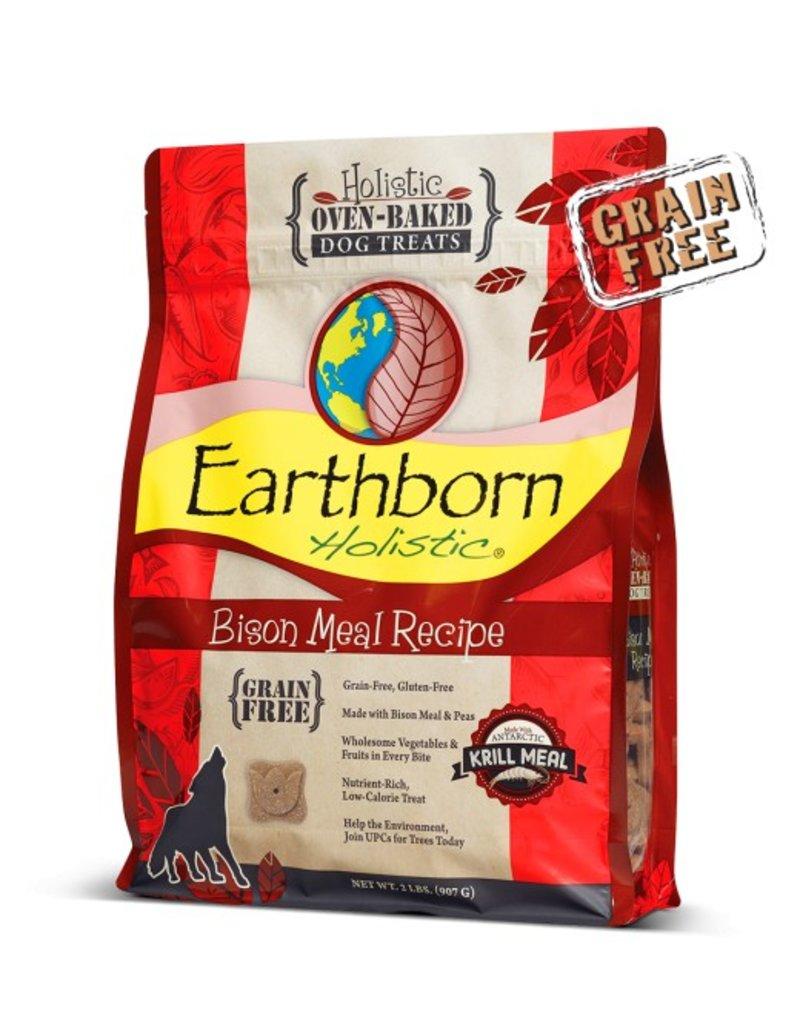 Earthborn Oven Baked Treats Bison 14oz