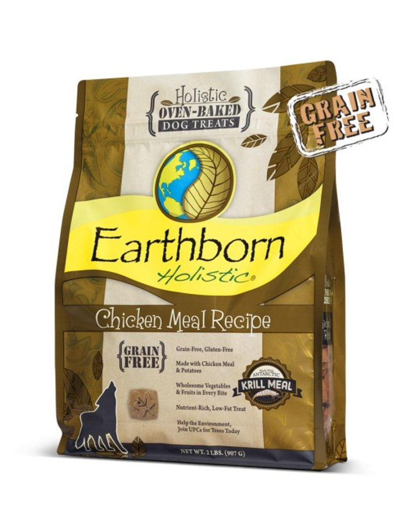Earthborn Oven Baked Treats Chicken 14oz