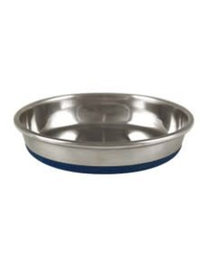 OurPets Premium Rubber-Bonded Stainless Steel Dish 12oz