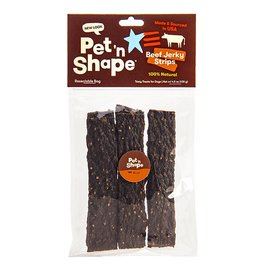 Pet 'n Shape Beef Jerky Strips 4.5oz