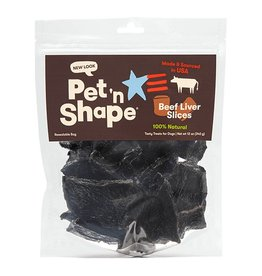 Pet 'n Shape Beef Liver Slices 12oz