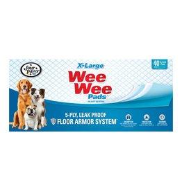 Wee-Wee Pee Pads X-Large 40ct