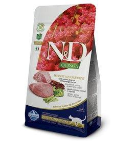 Farmina Adult Cat Quinoa Weight Management Lamb,  3.3 lbs.