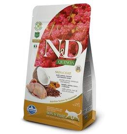 Farmina Adult Cat Quinoa Skin & Coat Quail Grain Free, 3.3 lbs.