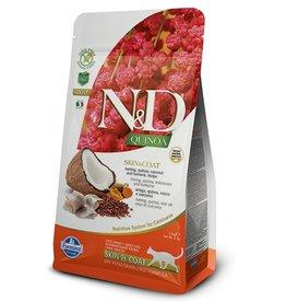 Farmina Adult Cat Quinoa Skin & Coat Herring Grain Free,  3.3 lbs.