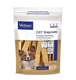 Virbac CET Enzymatic Dental Chews Petite CLEARANCE