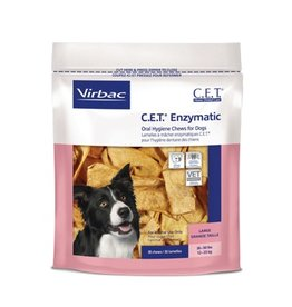 Virbac CET Enzymatic Dental Chew Large CLEARANCE