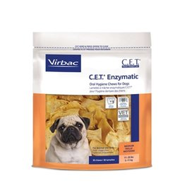 Virbac CET Enzymatic Dental Chew Medium