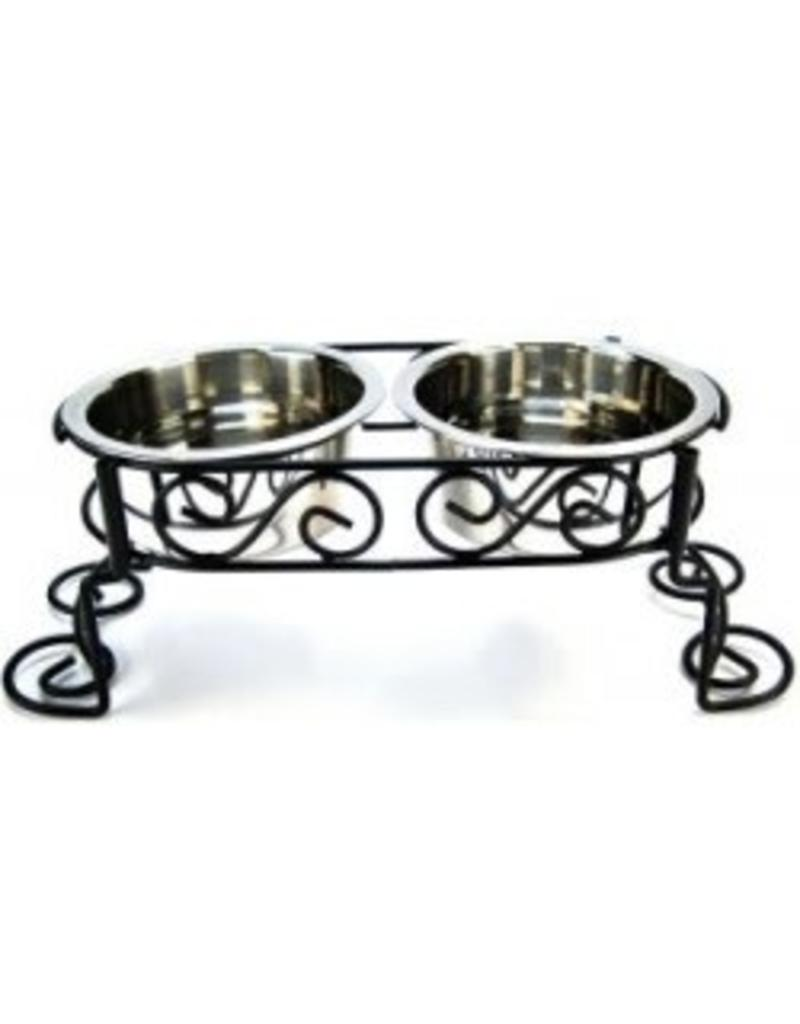 Ethical Pet Scrollwork Double Diner 1qt