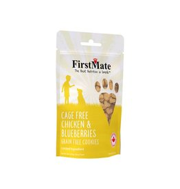 FirstMate FMATE Chk Blueberry Treat 8oz