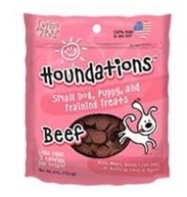 Loving Pets Houndations Beef Training Treats 4oz