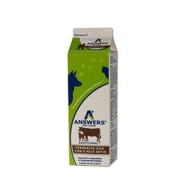Answers Fermented Raw Cow Milk Kefir 1qt