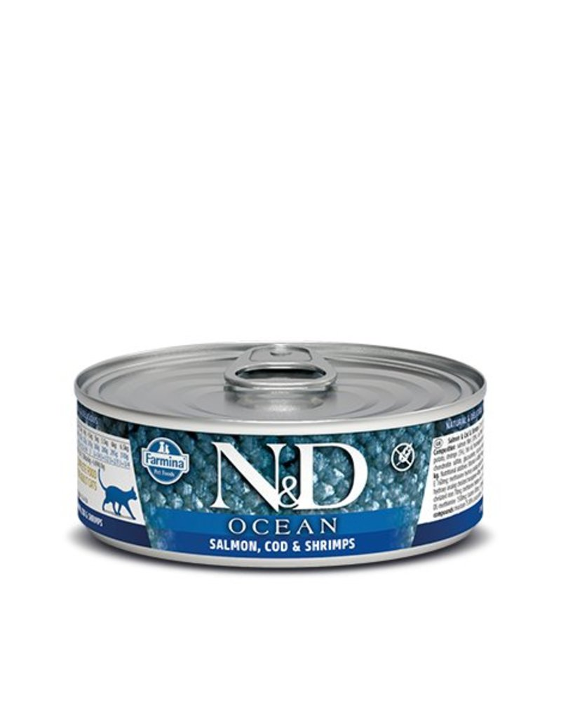 Farmina Cat Ocean Salmon Cod & Shrimp 2.8oz