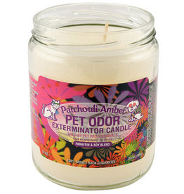 Specialty Pet Products Odor Exterminator Candle Patchouli Amber