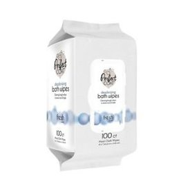 Perfect Coat Deodorizing Bath Wipes 100ct
