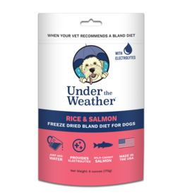 Under the Weather Rice & Salmon Bland Diet 6oz