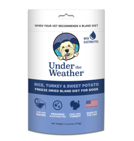 Under the Weather Freeze-Dried Bland Diet Rice Turkey & Sweet Potato 6oz
