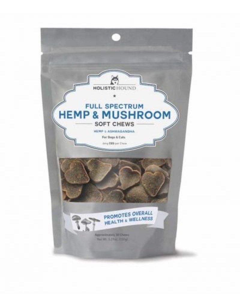 Holistic Hound Hemp & Mushroom Soft Chews 6mg CBD 5.29oz