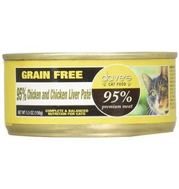 Dave's 95% Chicken & Liver Pate 5.5 oz