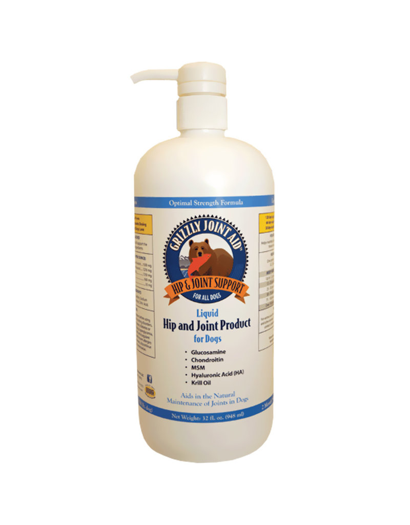 Grizzly Pet Products Hip & Joint Aid 32oz