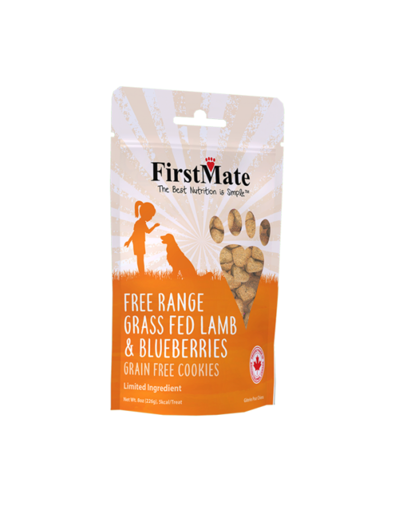 FirstMate Firstmate lamb and blueberries 8 oz