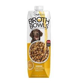 Fruitables Broth Bowls Chicken 33.8 oz