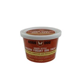 Boss dog Frozen Yogurt Cup Cheddar & Bacon