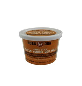 Boss dog Frozen Yogurt Pumpkin & Cinnamon
