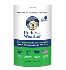 Under the Weather Freeze-Dried Bland Diet Rice Hamburger & Sweet Potato 6oz