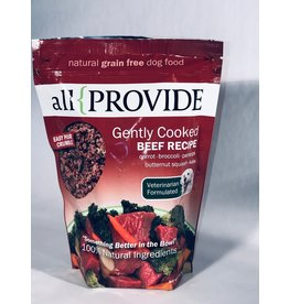 All Provide Frozen Gently Cooked Beef 2#