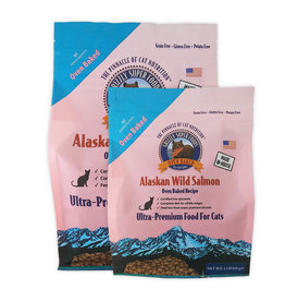 Grizzly Pet Products Grizzly Cat Food Oven Baked Salmon 3lb