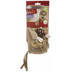 Petlinks Crinkle Ring & Mice Hide & Play Happynip