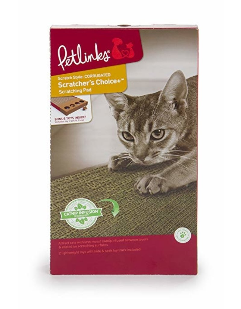 Petlinks Scratchers Choice with Toy