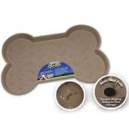 LOVING PETS CORP Bella Mat Spill Proof Tan Large