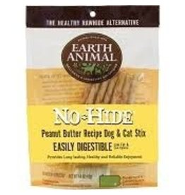 Earth Animal No Hide Peanut Butter Stix 10 pack