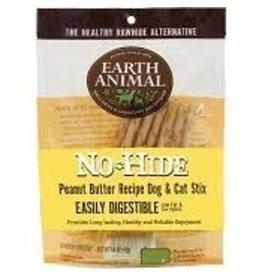 Earth Animal No Hide Peanut Butter Stix 10pk