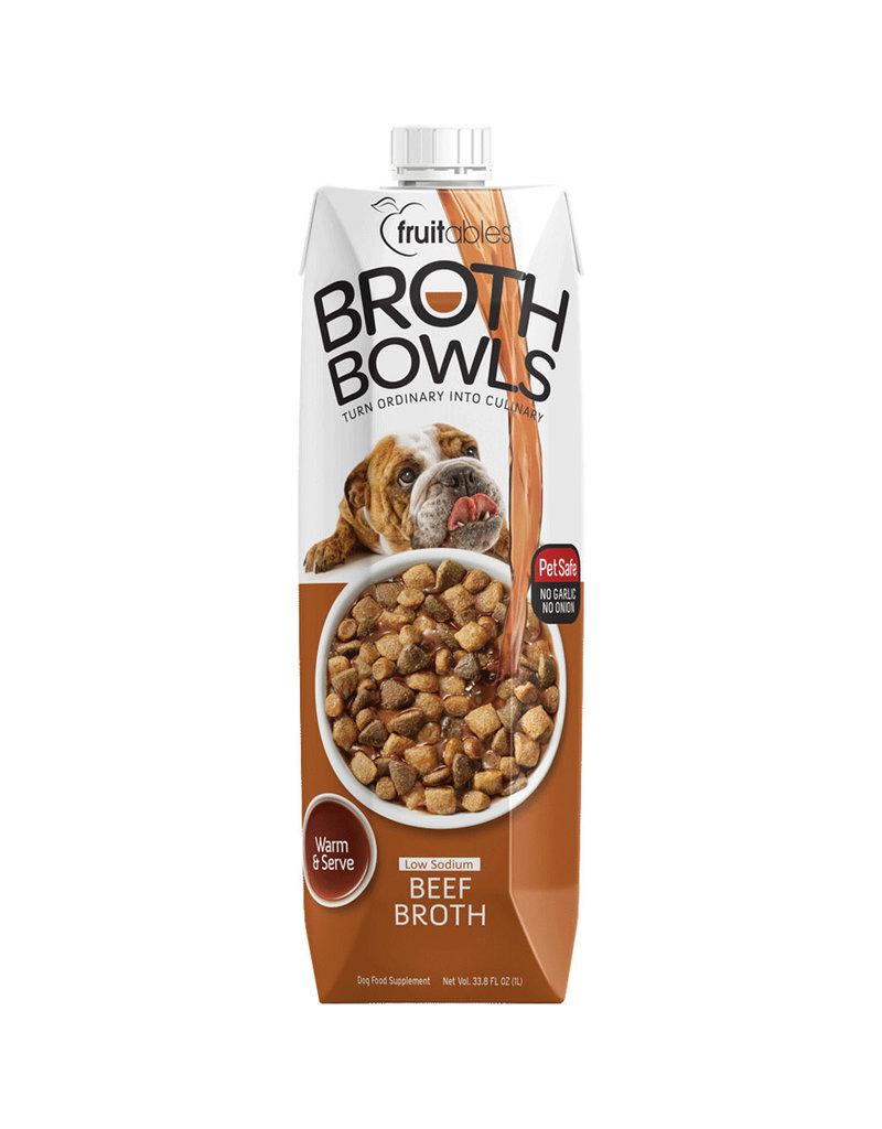 Fruitables Beef Broth Bowl 33.8 FL OZ