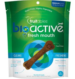 Fruitables Bioactive Fresh Mouth Medium Dog Chews 10pc
