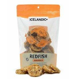 Icelandic+ Fish Treat Red Fish Skin Rolls
