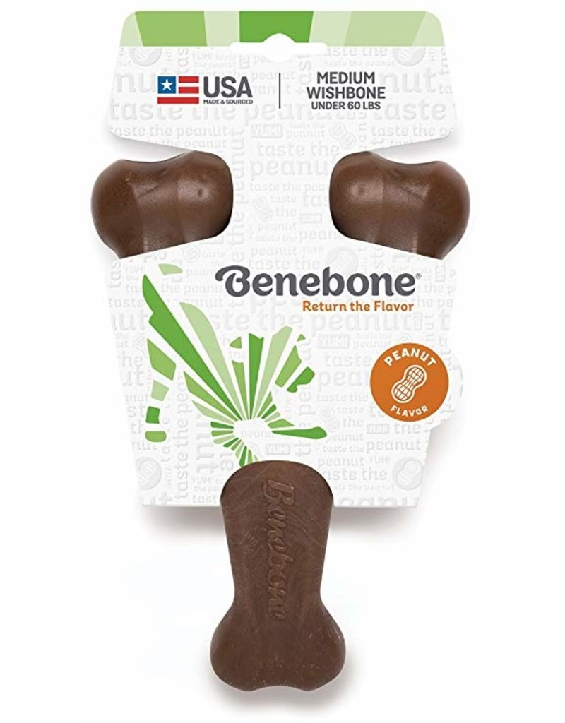 Benebone Wishbone Peanut Medium