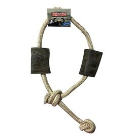 "QTDOG Buffalo Horn Slip Knot 34"""