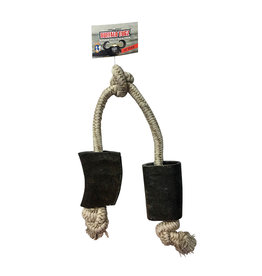 QTDOG Buffalo Horn Rope 24'