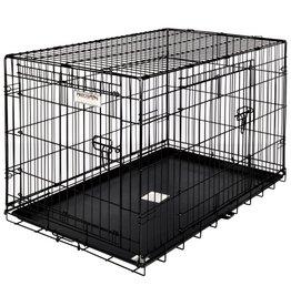 Precision Pet Products Dog Crate 2 Door 24x18x19