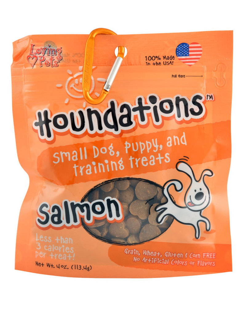 Loving Pets Houndations Salmon Training Treats 4oz