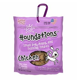 Loving Pets Houndations Chicken Training Treats 4oz